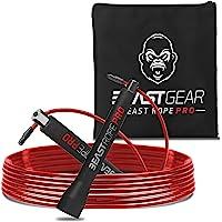 Beast Gear - Beast Rope Pro professionele springtouw - Speed Rope voor fitness, uithoudingsvermogen en afvallen. Ideaal…
