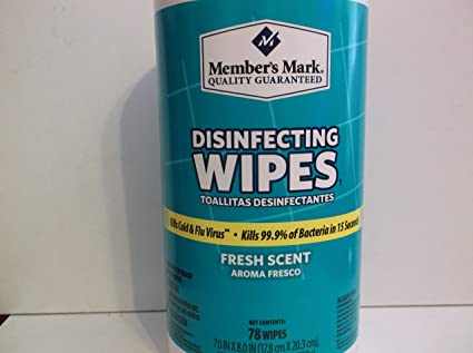 Members Mark 78 CtFresh Scent.Disinfecting Wipes