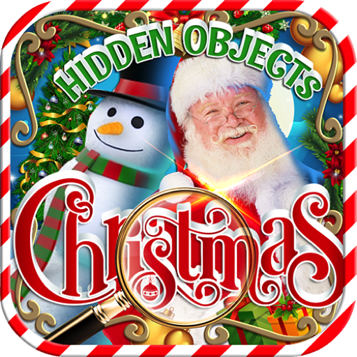 Hidden Object Christmas Celebration   Merry Winter Magic Holiday   Objects Time Puzzle Santa Xmas Game