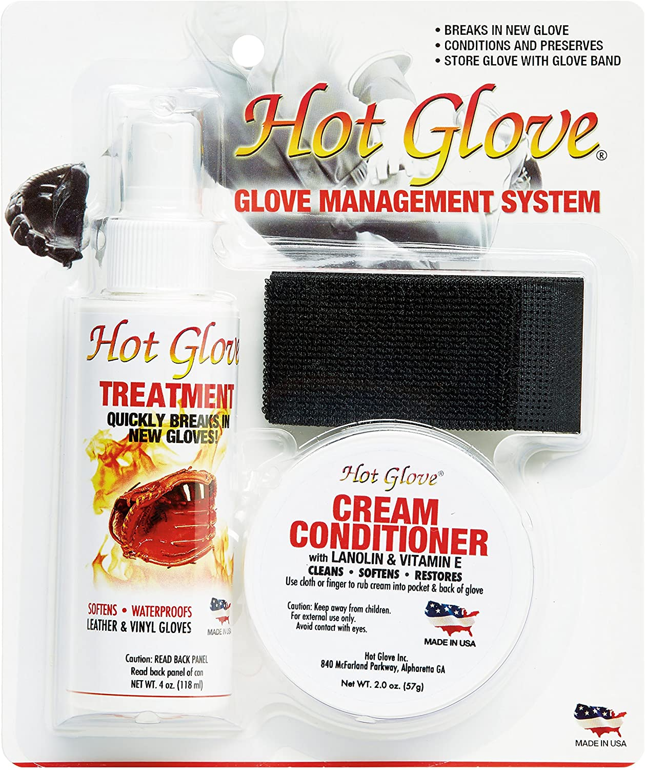 B0000ATDIY Hot Glove Break-in Kit Glove Care Management System 916FrKPo1WL