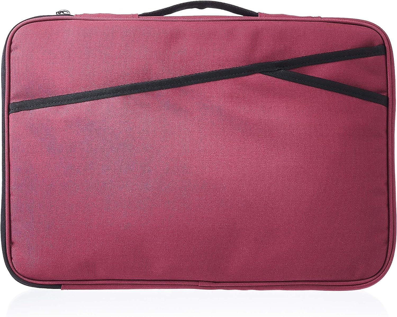 AmazonBasics Laptop Case Sleeve Bag - 15-Inch, Maroon