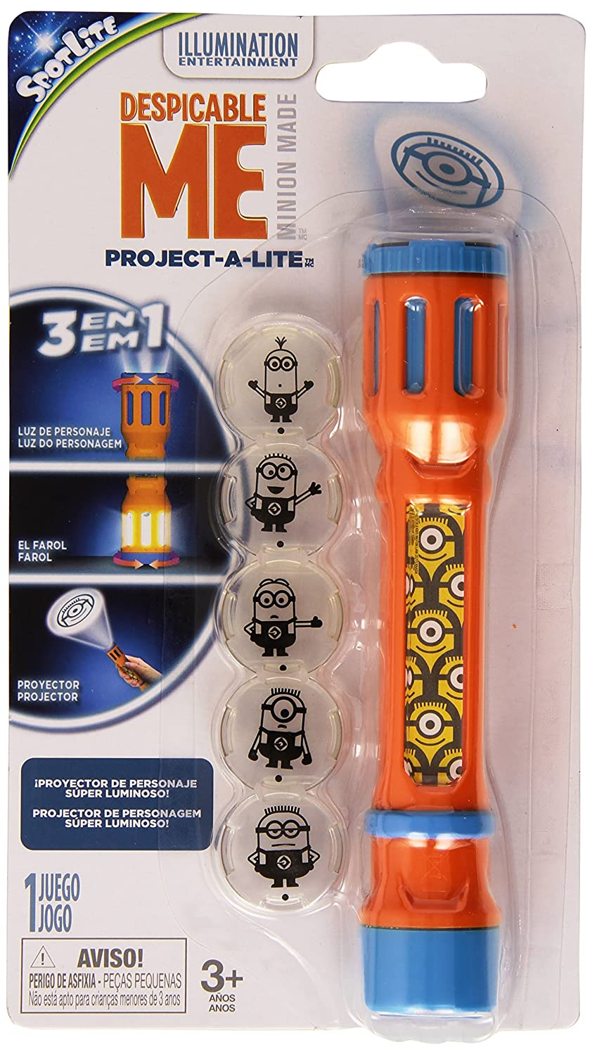 Minions - Proyector Linterna (Toy Partner 40309): Amazon.es ...