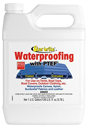Star brite Waterproofing With PTEF 1 Gallon  sc 1 st  Amazon.com & Amazon.com : Star brite Waterproofing With PTEF 1 Gallon : Boating ...