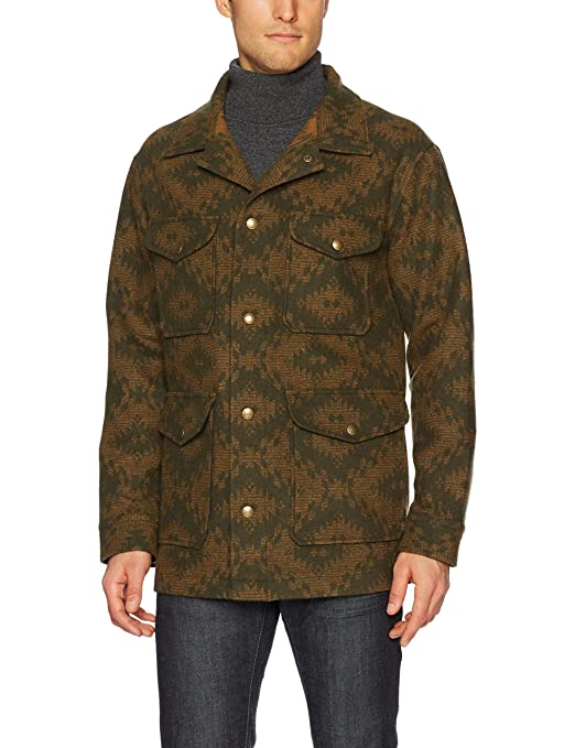 70s Jackets, Furs, Vests, Ponchos Pendleton Mens Reversible Canvas Vest $277.61 AT vintagedancer.com