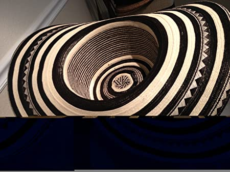 Amazon.com   Beautiful Colombian Sombrero Vueltiao Made By Colombian  Artisans   Everything Else 05d39cfb4b0