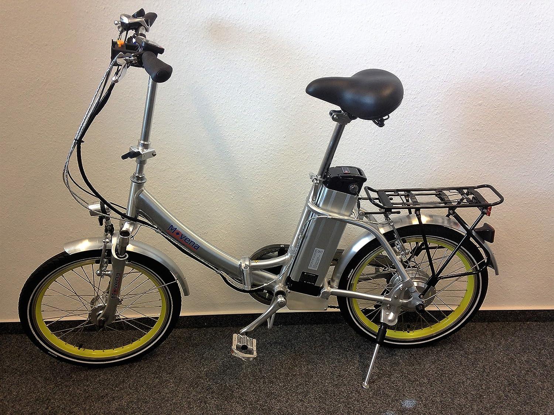 Edición limitada Movena afh20 amarillas Llantas y 100 Lux iluminación de B & M eléctrico - Bicicleta plegable (Pedelec Cilindro de Pedelec bicicleta ...