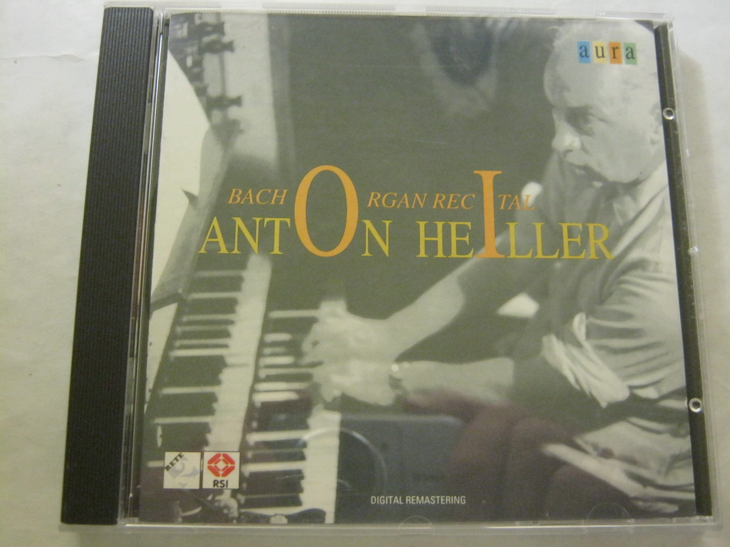 Heiller: Bach Organ Recital: BWV 565, 599, 615, 542, 622, 548, 582, Improvisation