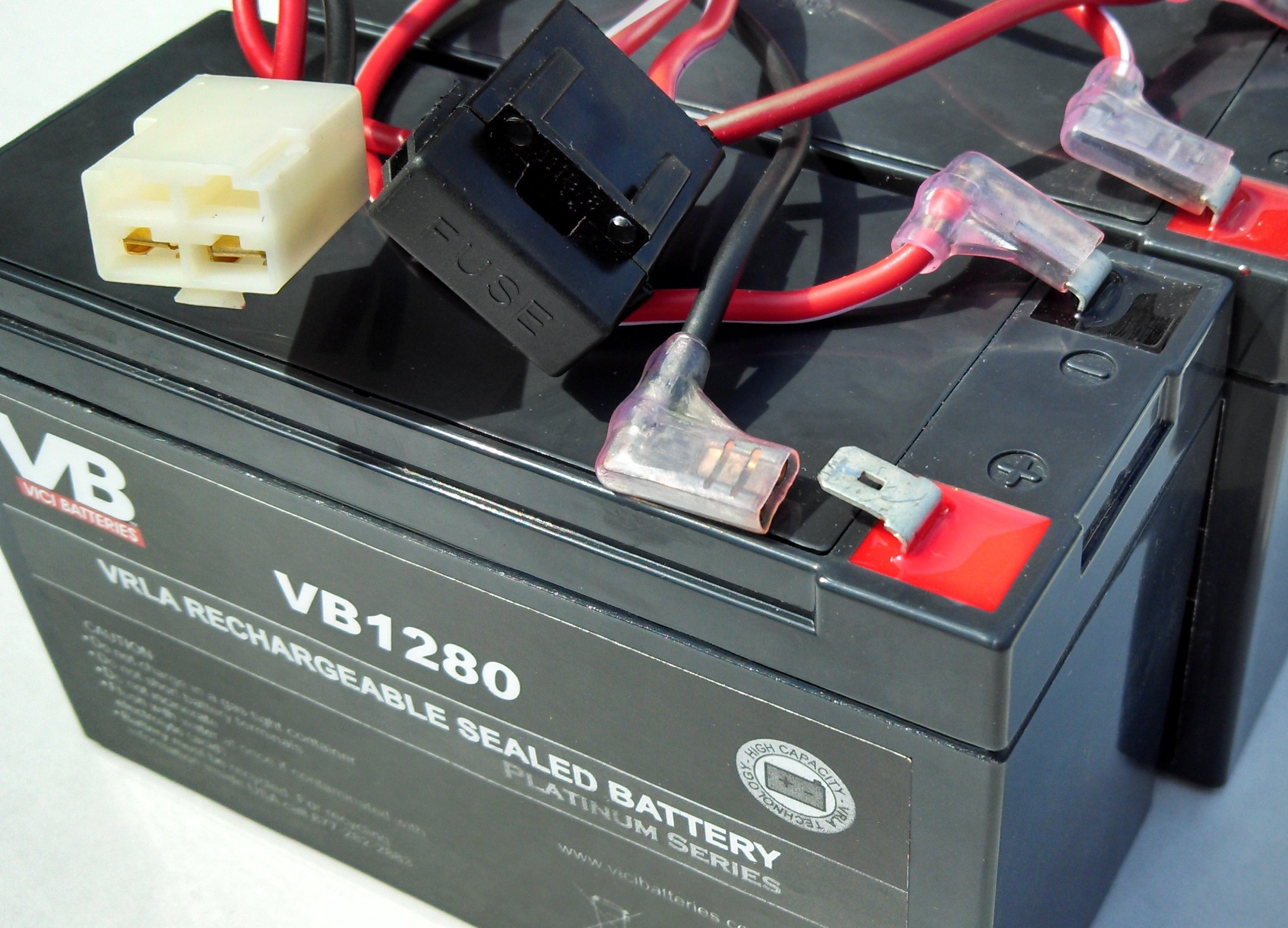 Razor Dirt Quad Battery Replacement - Includes Wiring Harness (8 ah