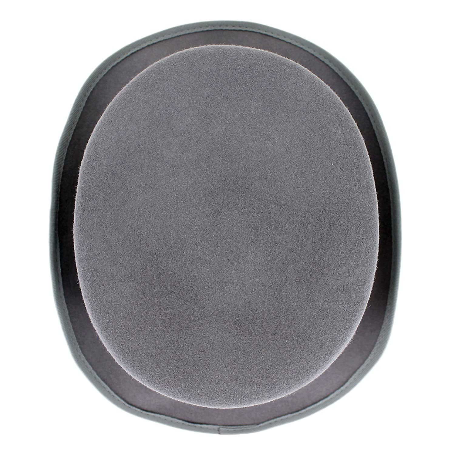 Small, Grey Crushable Top Hat Soft Mens 100/% Wool Felt in Black and Grey