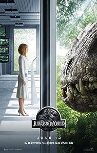 "Jurassic World (2015) Movie Poster 24 x 36"" Inches , Glossy Finish (Thick): Chris Pratt, Bryce Howard Dallas"