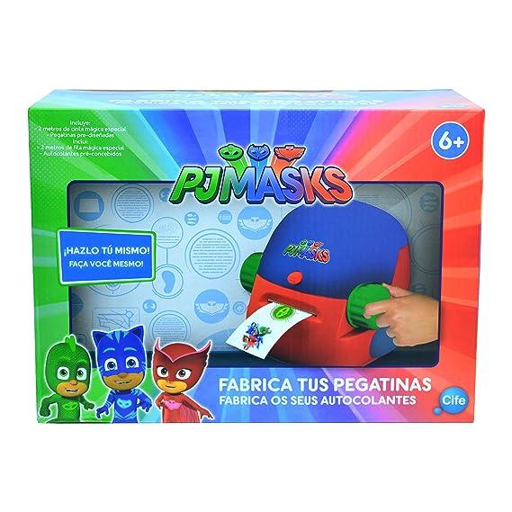 Pj Mask - Fabrica Tus Pegatinas (Cife Spain 41018): Amazon.es: Juguetes y juegos