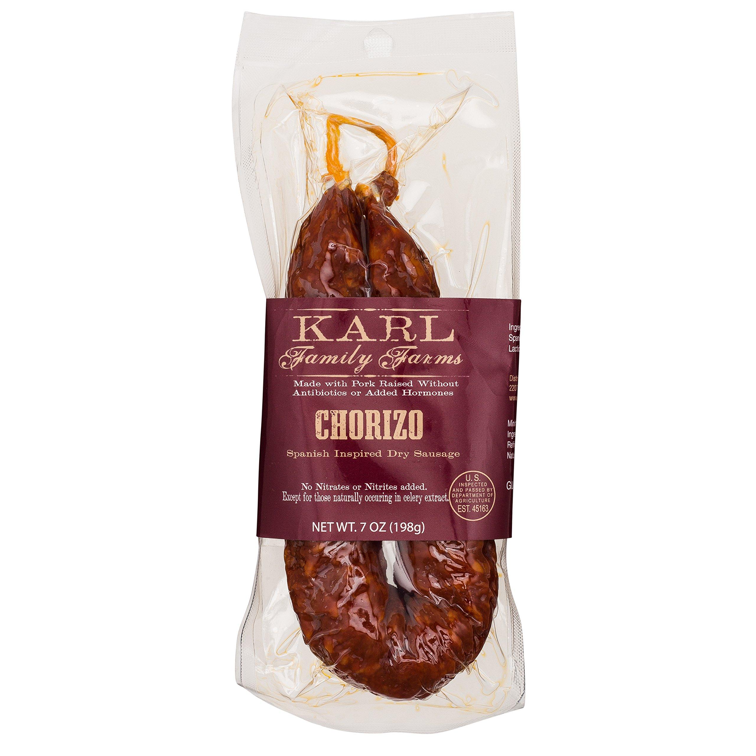 Nitrate Free Dry Cured Chorizo