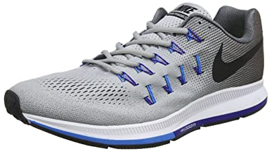 Nike Mens Air Zoom Pegasus 33  Star BlueWhitecoastal Blue  7 DM US  4S25FFXW8