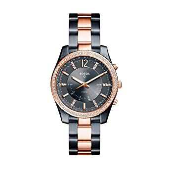 Amazon.com: Fossil Hybrid SmartWatch – Q Scarlette Two-Tone ...