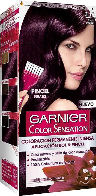 Garnier Color Sensation - Tinte Permanente Violín 3.16, disponible en más de 20 tonos