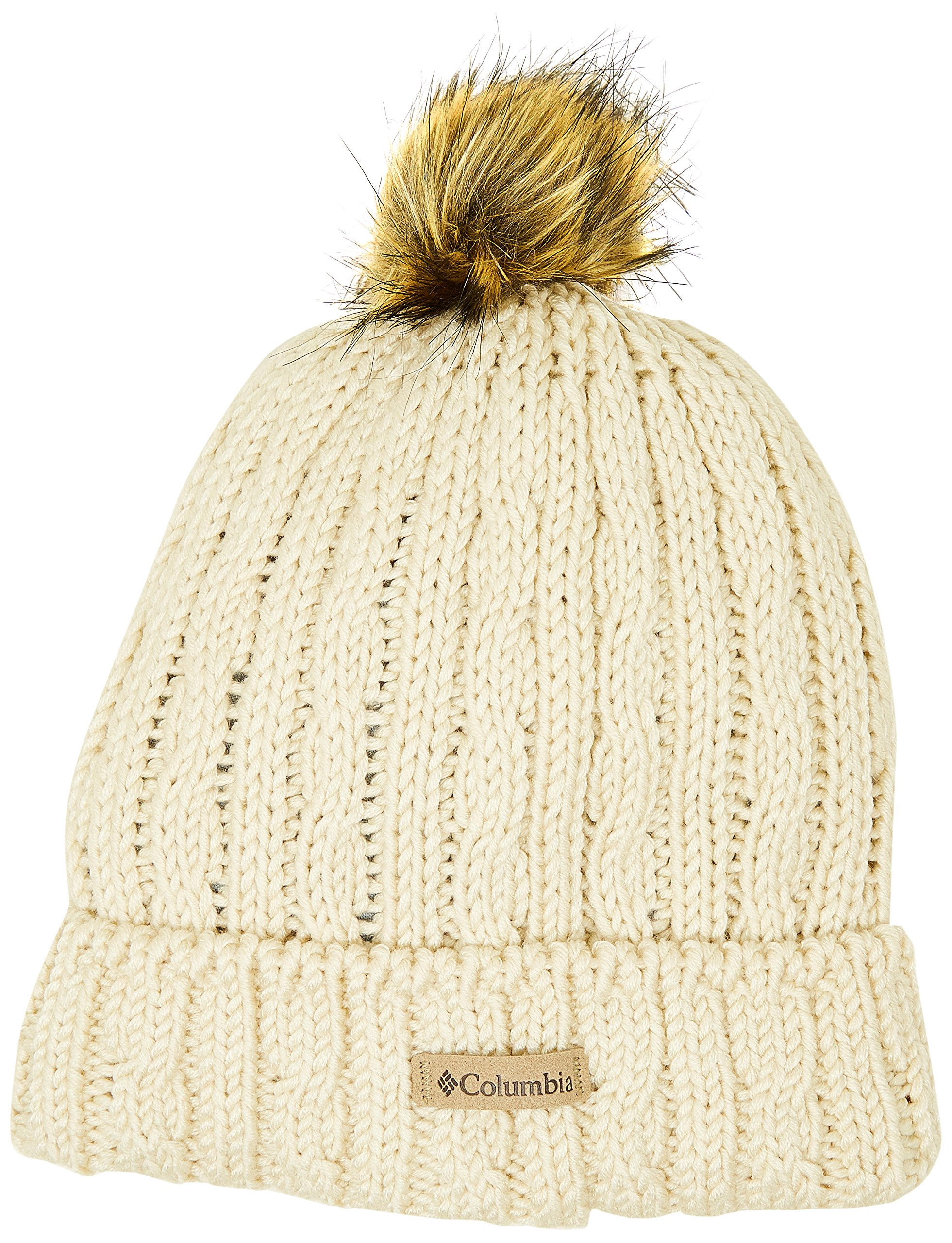 Columbia Catacomb Crest Beanie, Chalk, One Size by Columbia