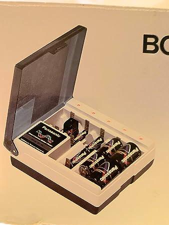 Amazon.com: Panasonic bq-8 °C Multi cargador de batería AA ...