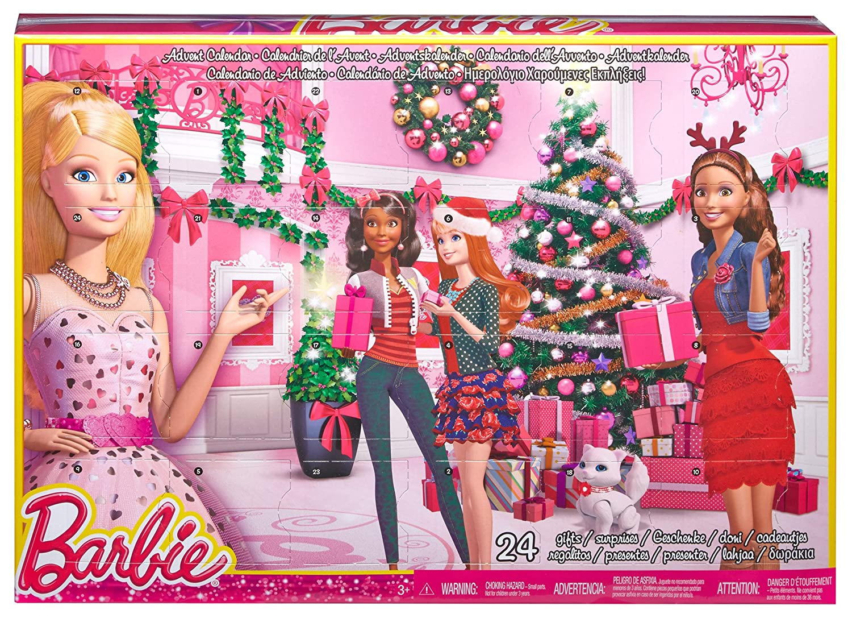 Amazon Com Barbie Advent Calendar Toys Games