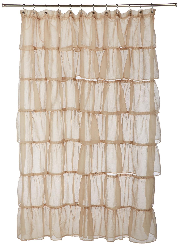 Amazon.com: Lorraine Home Fashions Gypsy Shower Curtain, 70 By 72 Inch,  Sand: Home U0026 Kitchen