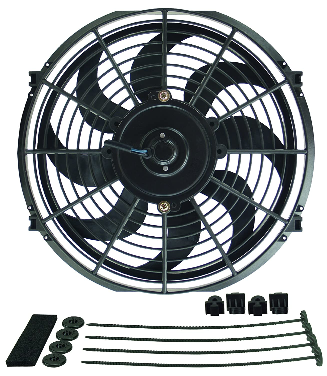 Fans & Parts Derale 18912 12 Dyno-Cool High Performance Electric ...