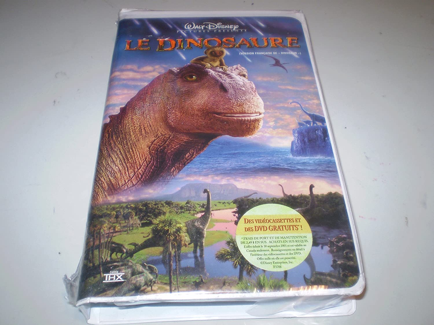 amazoncom le dinosaure walt disney pictures vhs french version movies tv - Dinosaure Disney