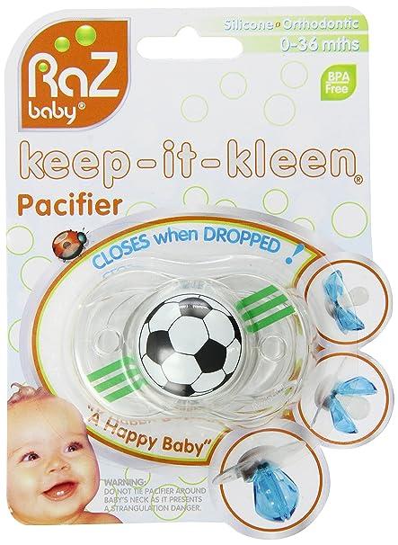 RazBaby - Chupete Balón de fútbol (tetina de silicona ...