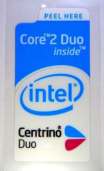 Original Intel Core 2 Centrino Duo Combi Sticker 12 x 26mm 368
