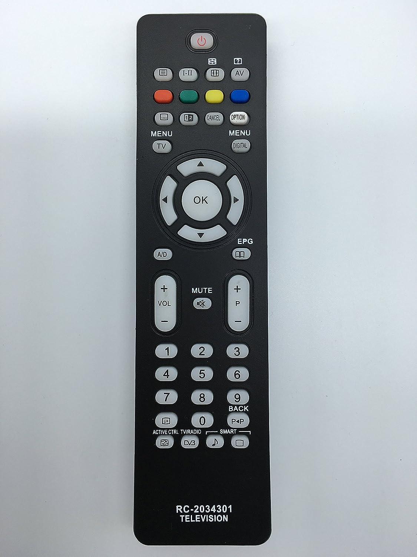 Vinabty reemplazado control remoto del televisor RC2034301/01 ...