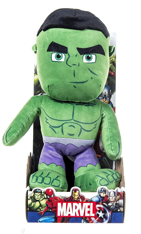 Marvel 31062 - Peluche (25,4 cm), diseño de Hulk: Amazon.es: Juguetes y juegos