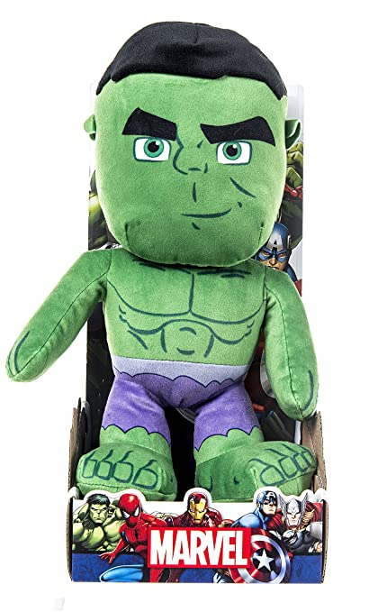 Hulk Official Licensed Marvel Avengers Character 10 inch Plush Toy