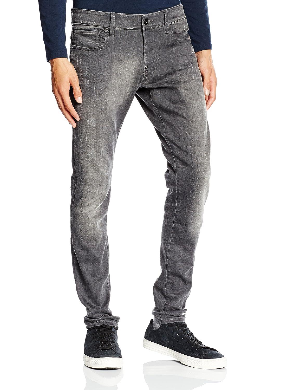 G-STAR Herren Slim Jeanshose Defend Super Slim - Slander superstretch Gr. W27/L30 (Herstellergröße: 27/30) Grau (lt aged destroy 1243)