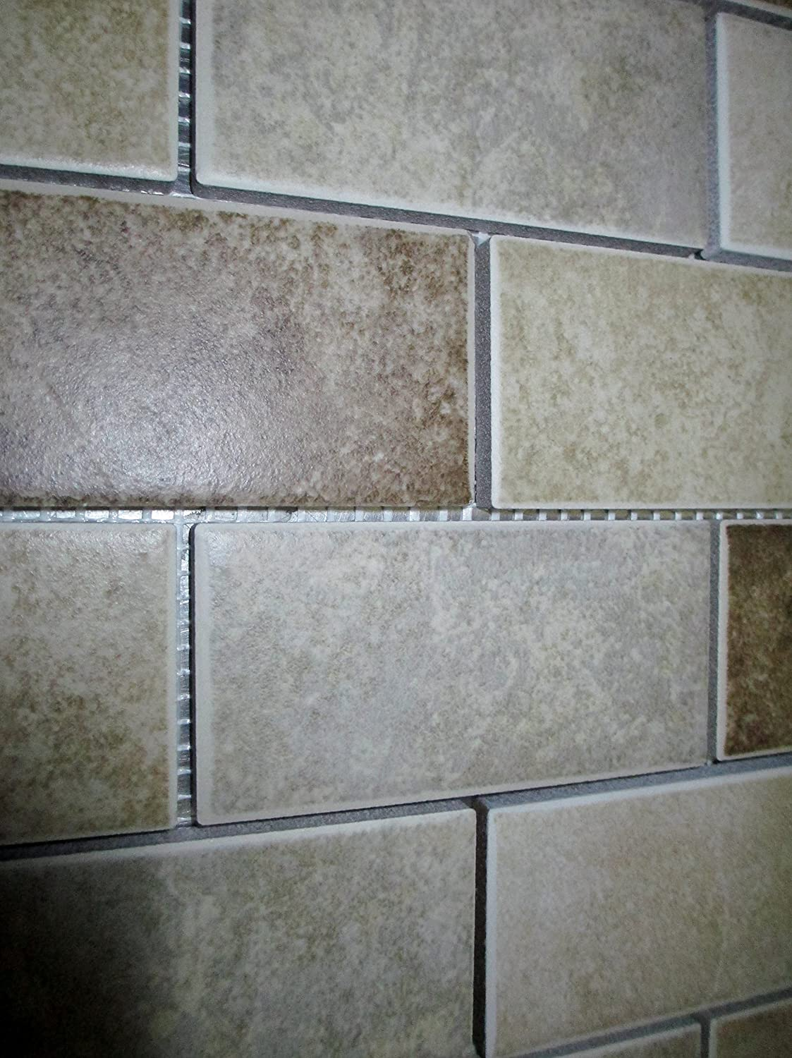 Daltile Santa Barbara Pacific Sand Blend 12 in  x 12 in  x 6 mm Mosaic  Floor and Wall Tile     Amazon com. Daltile Santa Barbara Pacific Sand Blend 12 in  x 12 in  x 6 mm