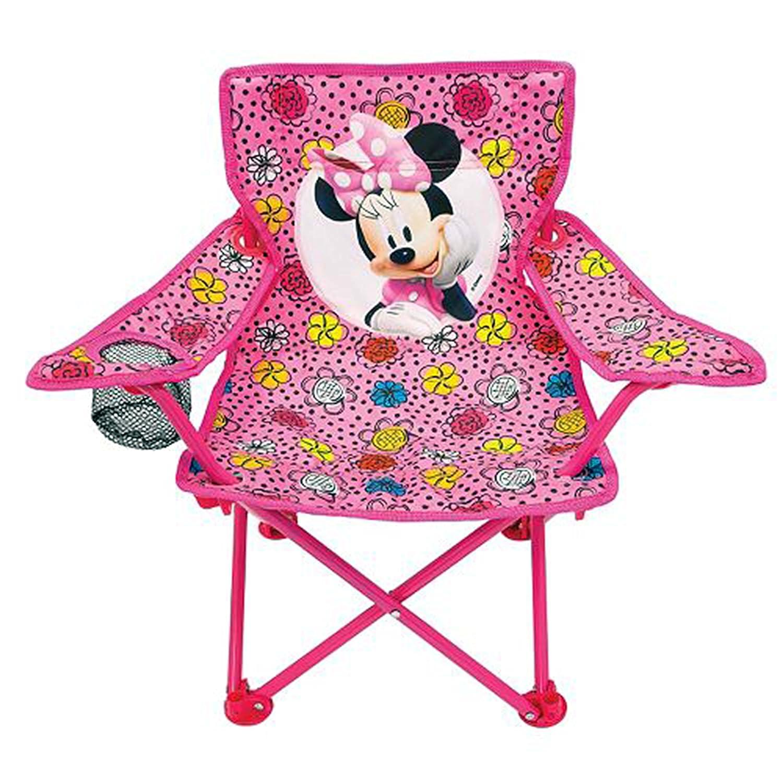 Amazing Amazon Com Disneys Minnie Mouse Fold N Go Foldable Chair Customarchery Wood Chair Design Ideas Customarcherynet