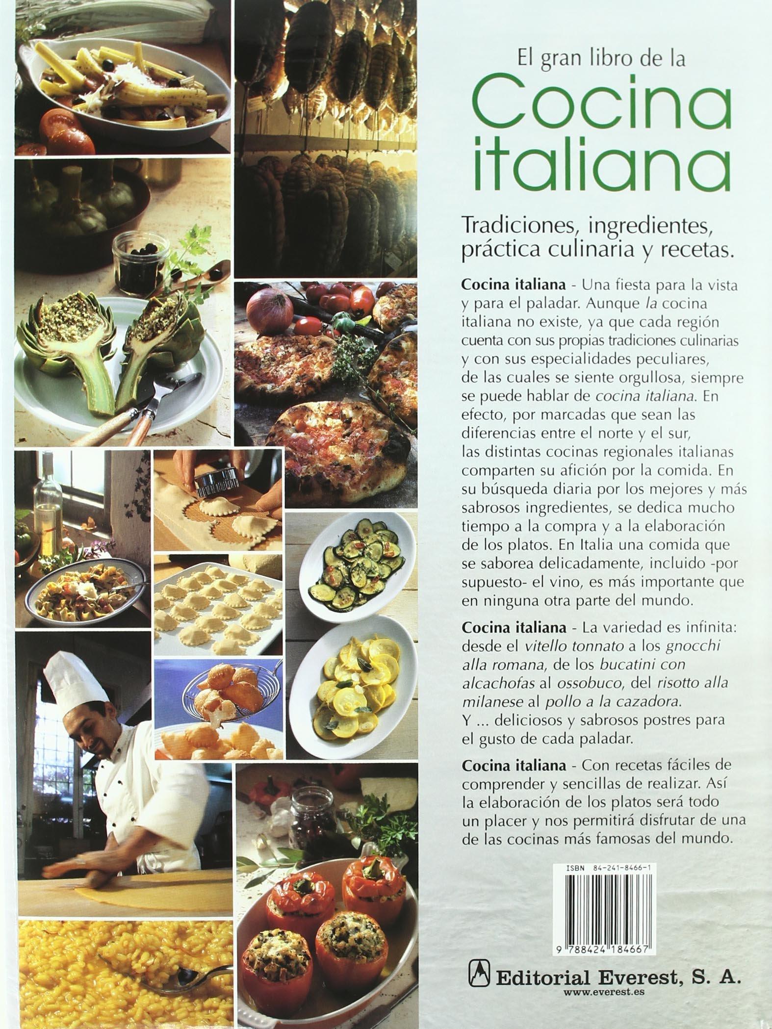 El Gran Libro de la Cocina Italiana (Gran gourmet): Amazon.es ...