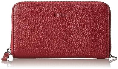 Bree Liv 134, Brick Red, Zipped Combi. Pu. M, Portefeuilles femme, Rot (Brick Red), 2x8x15.5 cm (B x H T)