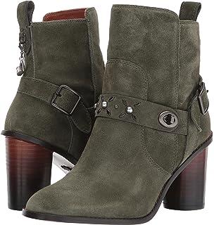 e7845c40dcd4a Amazon.com | Coach Womens Moto Boot Leather Closed Toe Ankle Fashion ...