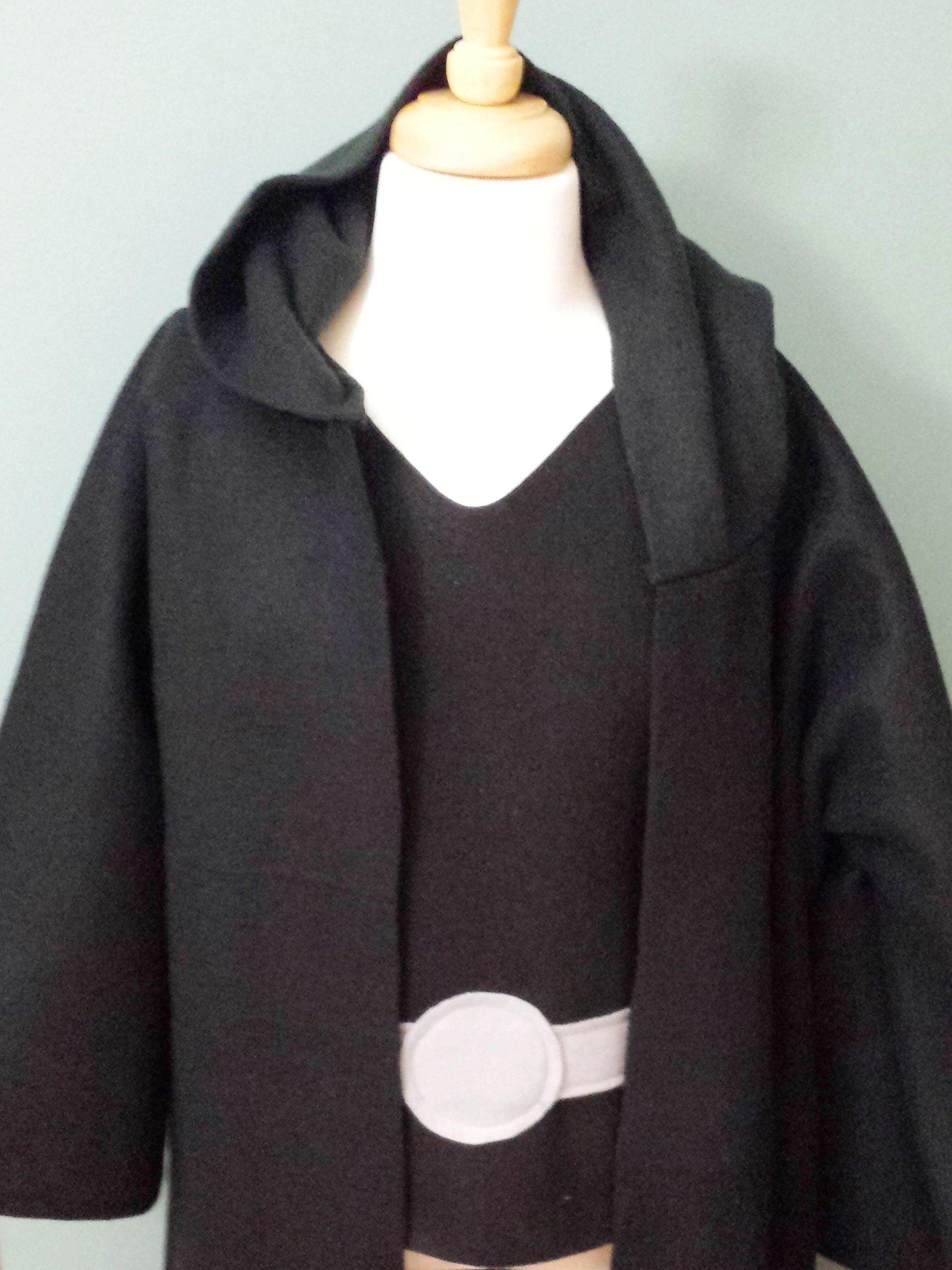 Kids Star Wars Sith Jedi Robe Costume Set (Darth Vador/Darth Maul/Kylo Ren) - Baby/Toddler/Kids/Teen/Adult Sizes
