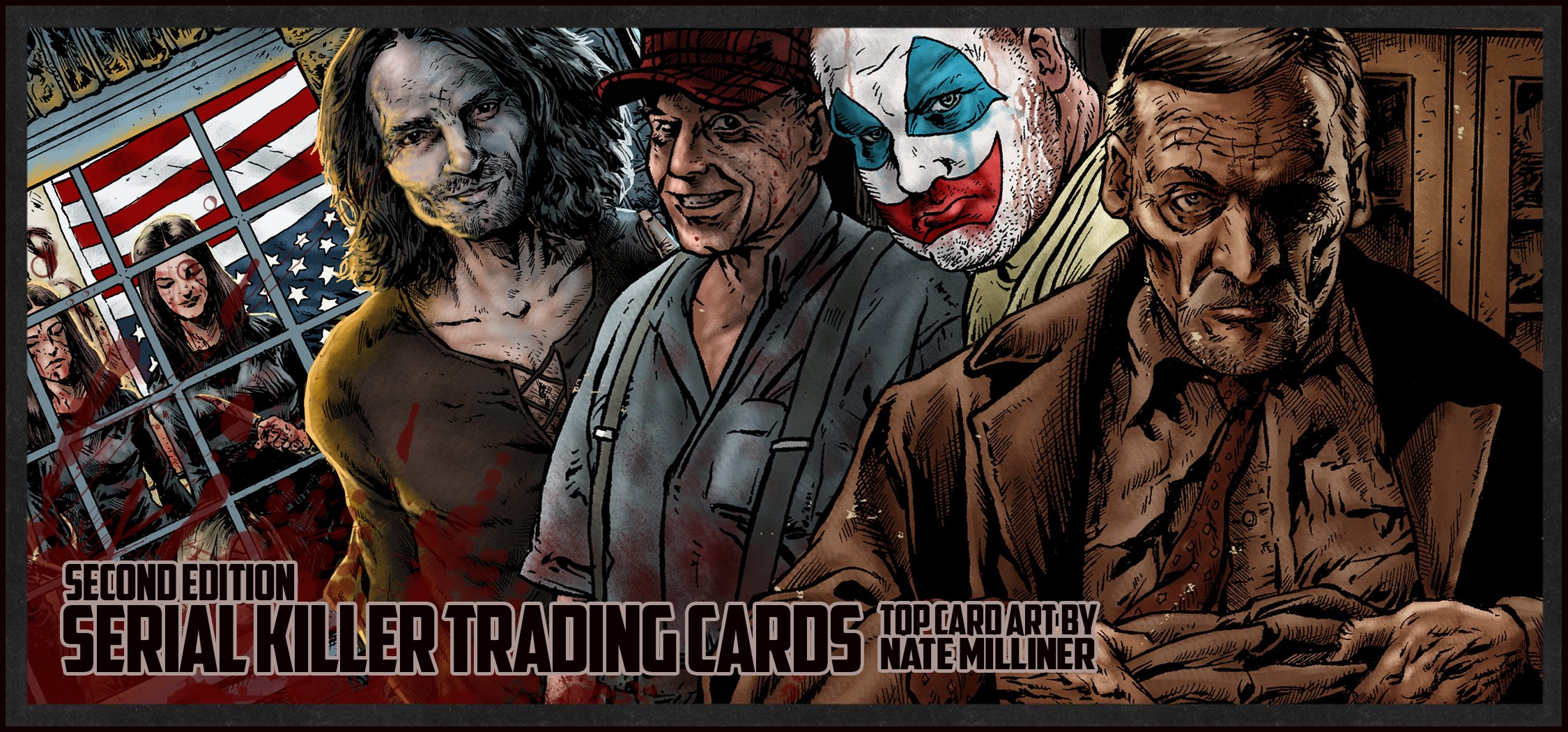 New Serial Killer Trading Cards Gilks And Saunders