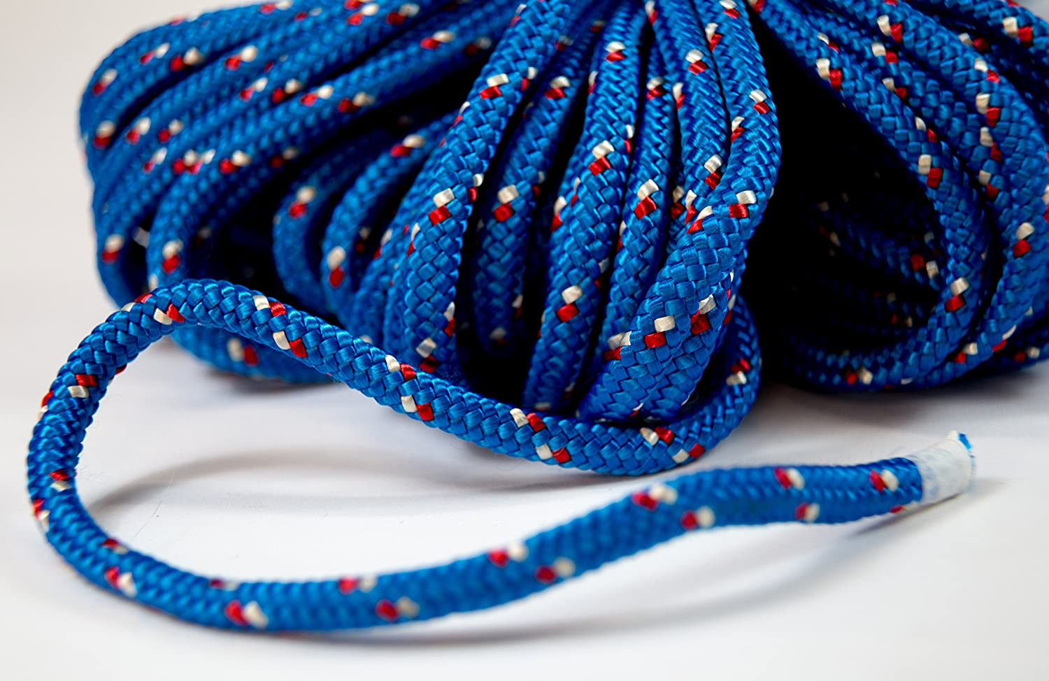 Amazon.com : Itacorda Eco-Friendly - Double Braided Rope - 5/16 inches - 150 feet - Blue - Outdoor activities : Sports & Outdoors