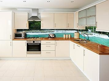 Ruvitex 3D Decor Küche Vinyl PVC Rücken Aufkleber Fliesen Art Wand ...