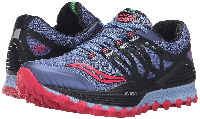 Saucony Women's B018FAIVSE Xodus Iso Trail Runner B018FAIVSE Women's 9 B(M) US|Denim/Black/Pink 0c7bb8