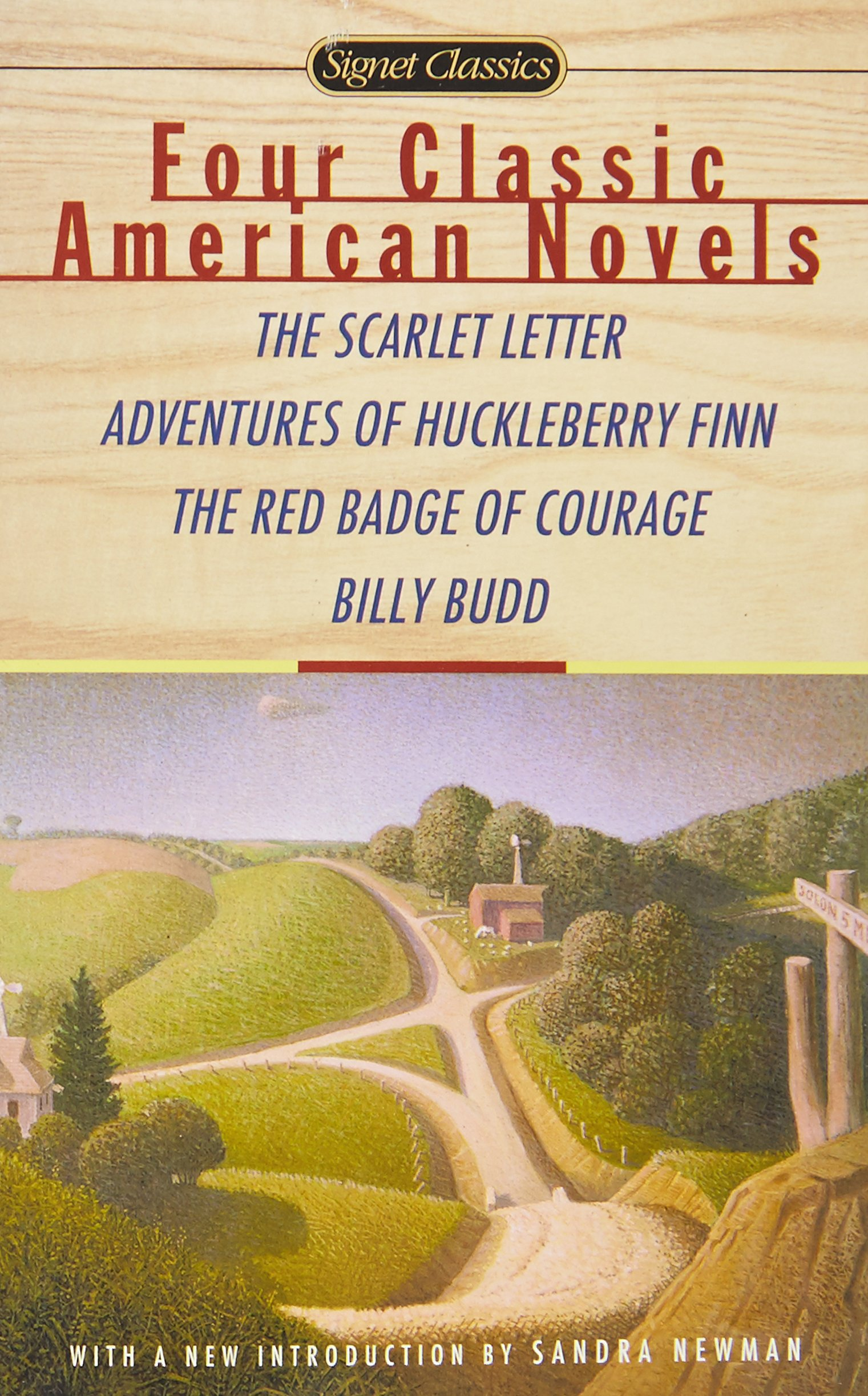 Amazon Four Classic American Novels The Scarlet Letter
