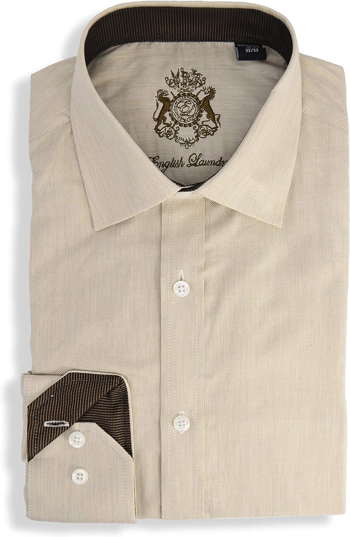 English Laundry Solid Dress Shirt
