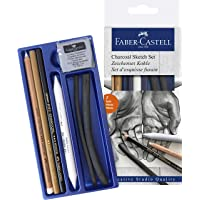 Faber-Castell 5110114002 Kömür Sketch Seti, Siyah