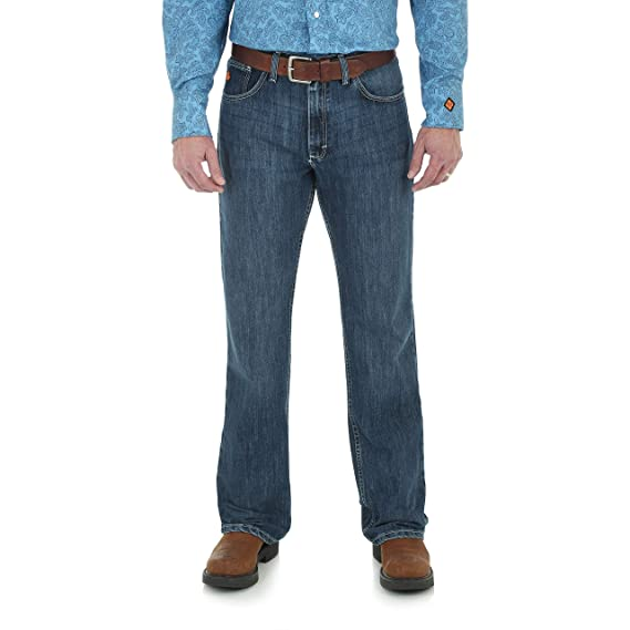 Wrangler Mens Fr Flame Resistant 20x Vintage Boot Cut Jean