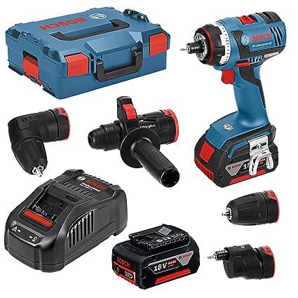 Bosch Professional 06019E1104 Atornillador a batería, 18 V, Azul