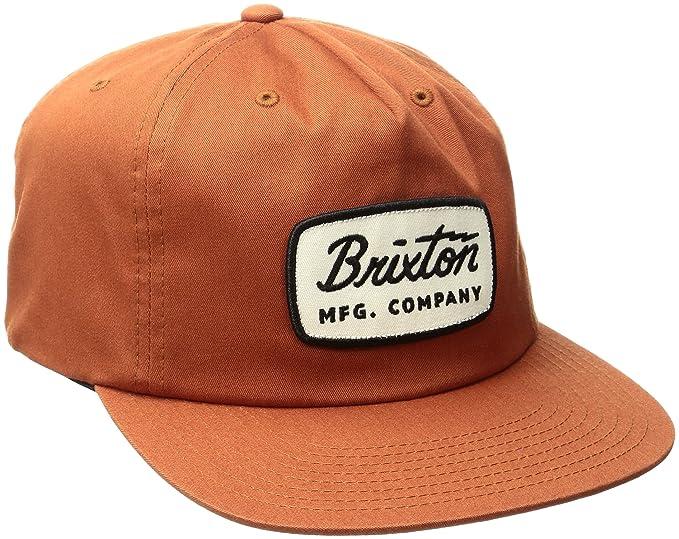 e411bfd49d4 Brixton Men s Jolt High Profile Adjustable Snapback Hat