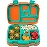 Bentgo Kids Brights – Leak-Proof, 5-Compartment Bento-Style Kids Lunch Box – Ideal Portion Sizes for Ages 3 to 7 – BPA-Free,