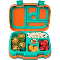 Bentgo Kids Brights - Leak-Proof, 5-Compartment Bento-Style Kids Lunch Box - Ideal Portion Sizes for Ages 3 to 7 - BPA-Free and Food-Safe Materials