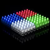 Light Up Rings LED Finger Lights 100pk – Glow Rings Bulk Party Favors for Kids, Glow in The Dark Party Supplies, Stocking Stuffers Rave Accessories